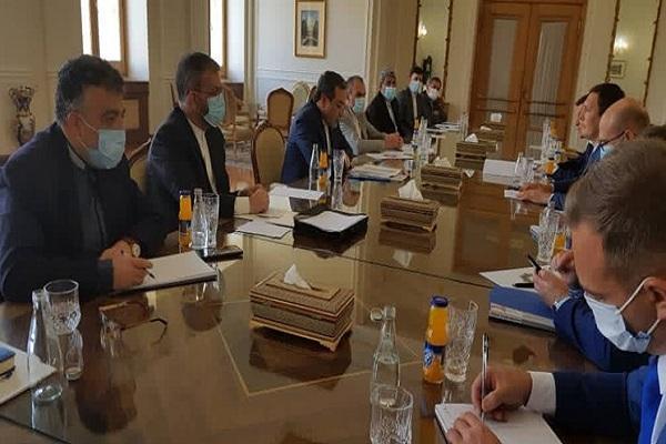 دومین نشست تبادل نظر های سیاسی ایران و اوکراین به ریاست عراقچی در تهران