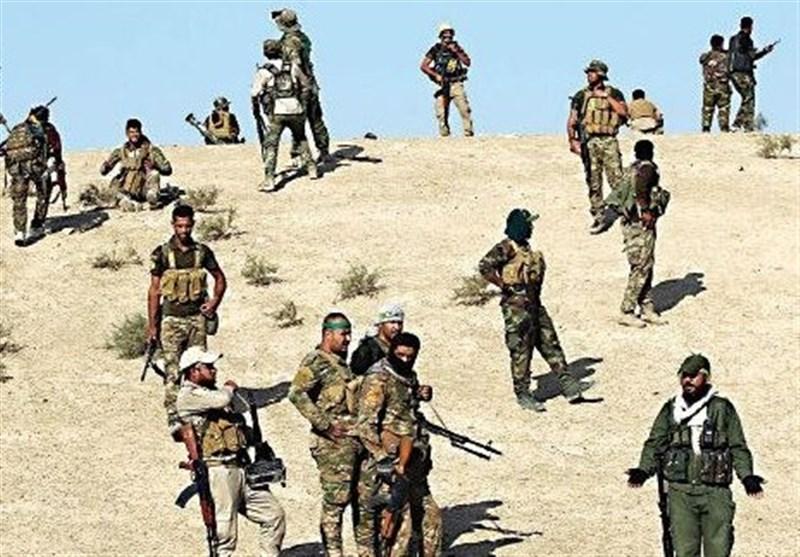 دفع حمله تروریست های داعشی توسط حشد شعبی در صلاح الدین عراق