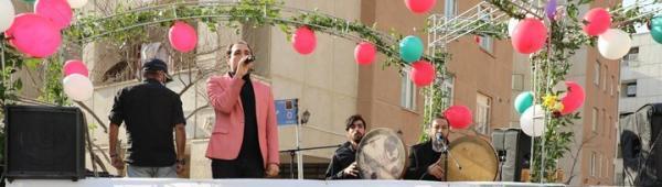 نور افشانی و راه اندازی کارناوال های عید مبعث
